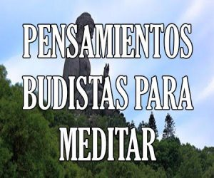 Pensamientos Budistas para Meditar