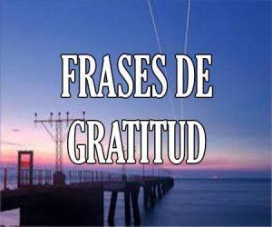 Frases de Gratitud