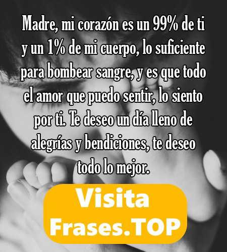 Frases De Amor Para Mama Cortas Y Bonitas Feliz Dia De La Madre