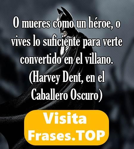 Frases De Batman Del Caballero De La Noche De Nolan Vs