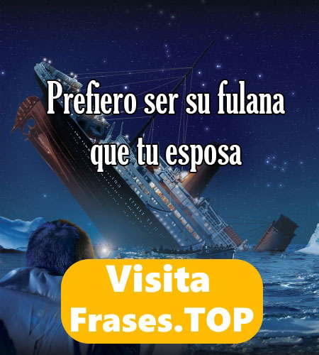 imagen con frase de titanic