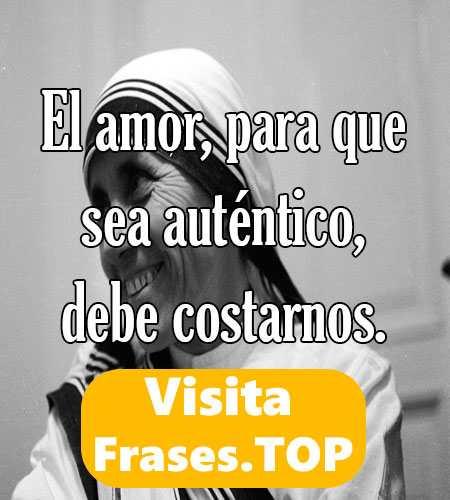 Reflexiones Y Frases De La Madre Teresa De Calcuta Santa