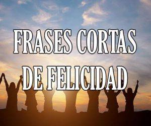 Frases De Felicidad Cortas Y Bonitas Y De Alegría