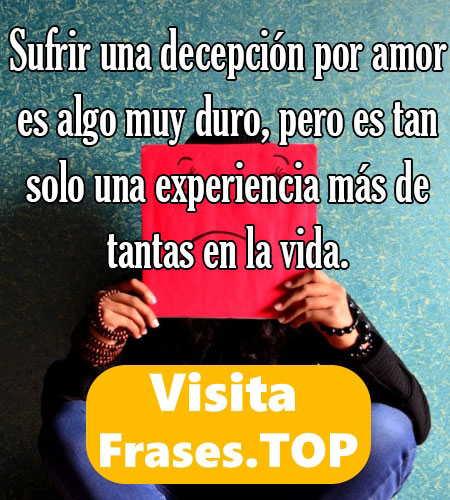 Frases De Decepcion Y Desilusion De Amor Amigos Y Vida Cortas