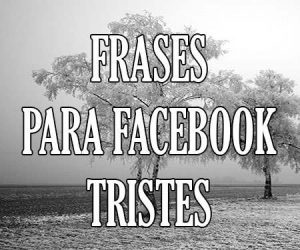 frases tristes de facebook