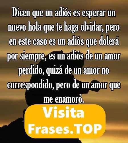 Frases De Amor No Correspondido Perdido De Fracaso Que
