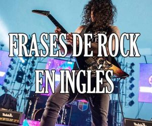 Frases de rock en ingles