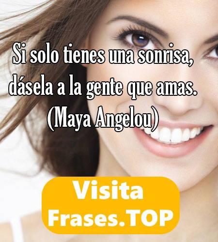 Frases De Sonrisas Y Sonreír Bonitas De Mujer Amor