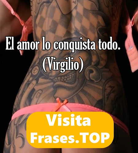imagen con frase para tatuaje