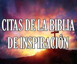 Citas de La Biblia de Inspiración