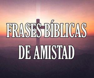 Frases Bíblicas de Amistad