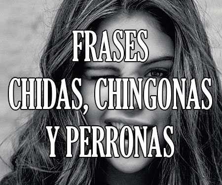 Frases Chidas Chingonas Y Perronas Cortas De La Vida