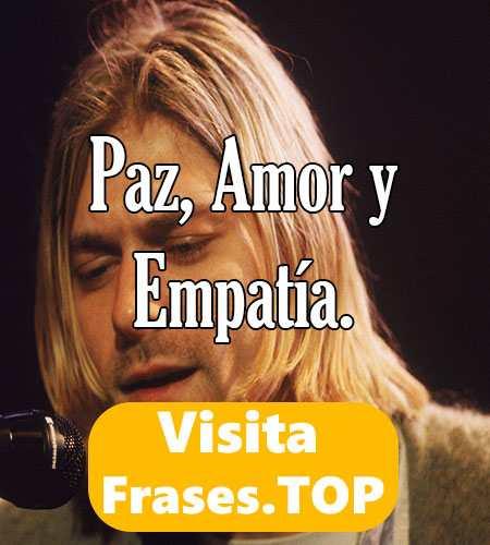frases de kurt cobain en español