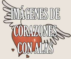 Imagenes de Corazones con Alas