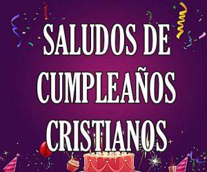 Saludos de cumpleaños cristianos
