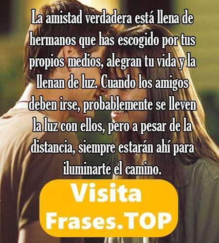 Mensajes Y Frases De Amistad Cortas Bonitas Y De Amor