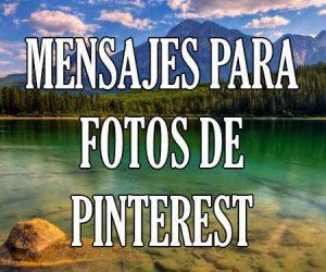 Mensajes para Pinterest