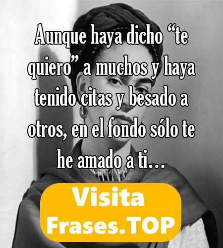 Frases de Frida Kahlo Cortas