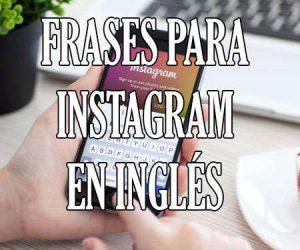 Frases para Instagram en Ingles