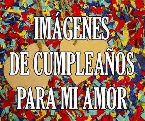 Imagenes de Cumpleaños de Amor
