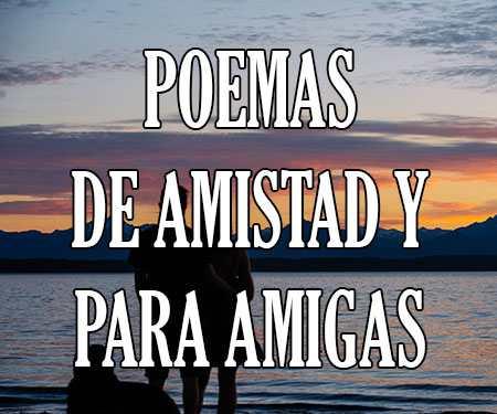 Poemas De Amistad Cortos Para Amigas Y Niños Poesía