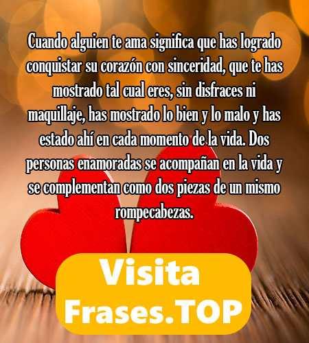 Pensamientos De Amor Cortos Y Bonitos Frases Top