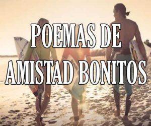 Poemas de Amistad Bonitos
