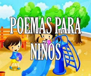 poesias y poemas para niños