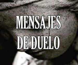 Mensajes de Duelo