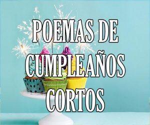 Poemas de Cumpleaños Cortos
