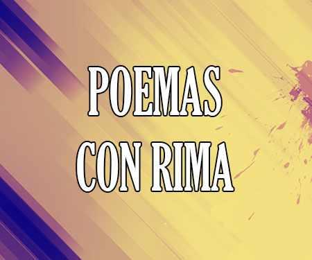 Poemas Con Rima Asonante Y Consonante Cortos Para Niños