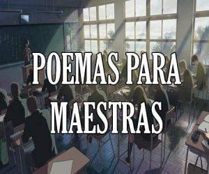 Poemas para Maestras