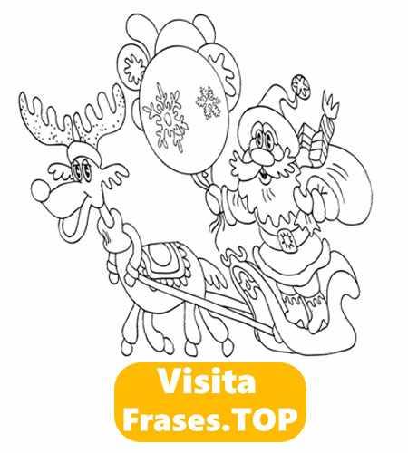Dibujos De Navidad 2019 Para Colorear Fáciles Imágenes