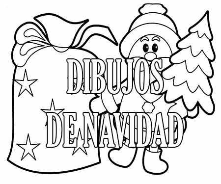 Dibujos Dibujos De Navidad.Dibujos De Navidad 2019 Para Colorear Faciles Imagenes
