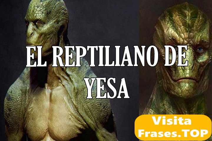 el reptiliano de yesa