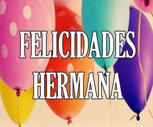 Felicidades Hermana