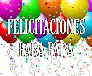Felicitaciones para Papa