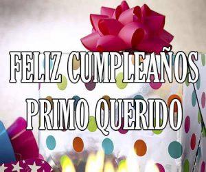 Feliz Cumpleaños Primo Querido