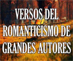 Versos del Romanticismo de Grandes Autores