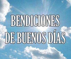 bendiciones de buenos dias