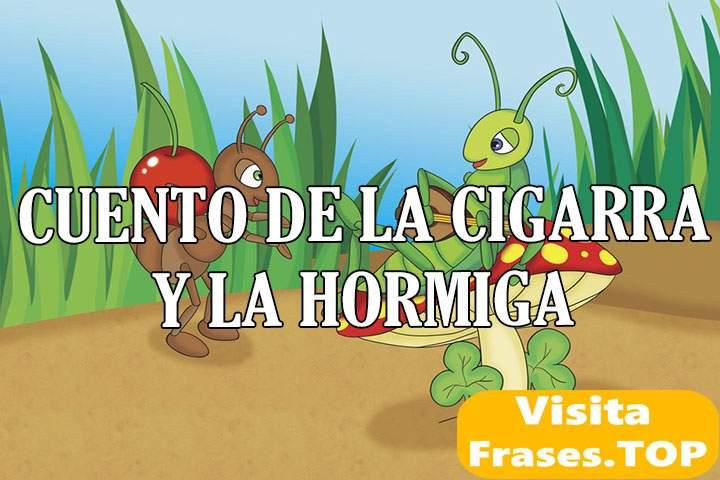 cuento de la cigarra y la hormiga