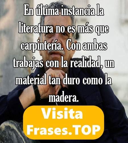 frases bonitas de Gabriel Gárcia Márquez