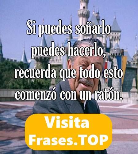 frases de Walt Disney Célebres