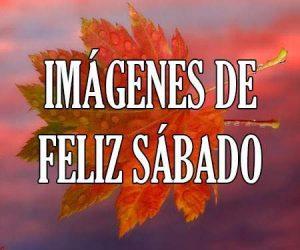 Imagenes de Feliz Sabado