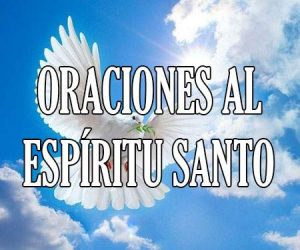 oraciones al espíritu santo