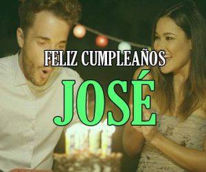 Feliz Cumpleaños José