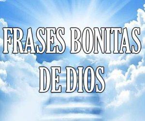 Frases Bonitas de Dios