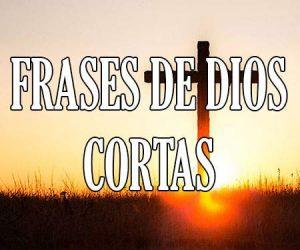 Frases de Dios Cortas