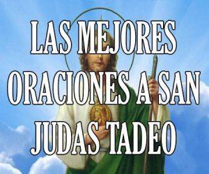 Las Mejores Oraciones a San Judas Tadeo