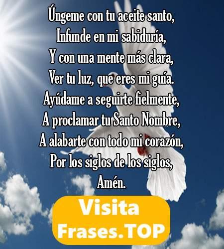 oraciones poderosas al espiritu santo